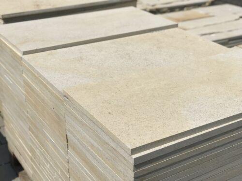 1m2 Natursteinplatten 60x60 Sandstein Hofplatten Pflasterstein Terrassenplatten