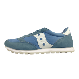 Saucony-Jazz-Low-Pro-Mens-Size-13-Light-Blue-Running-Sneakers-Shoes-S2866-214