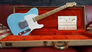 TELECASTER-STINGER-STINGCASTER-T-DAPHNE-BLUE-52-P90-039-s-GUITARS-BY-JP-STINGRAY