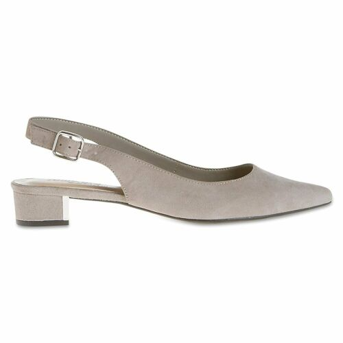 Marks/&Spencer M/&S T028471W Light Grey T028463W Wide Fit Suede Court Shoes £45
