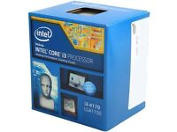 Intel Core I3-4170 Haswell Dual-core 3.7 Ghz Lga 1150 54w Bx80646i34170 Desktop on sale