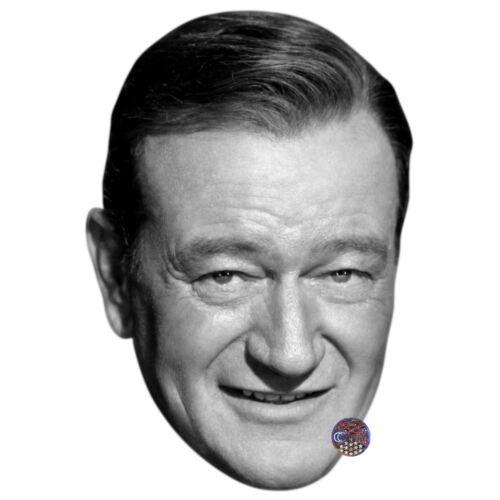 John Wayne Celebrity Mask Card Face and Fancy Dress Mask