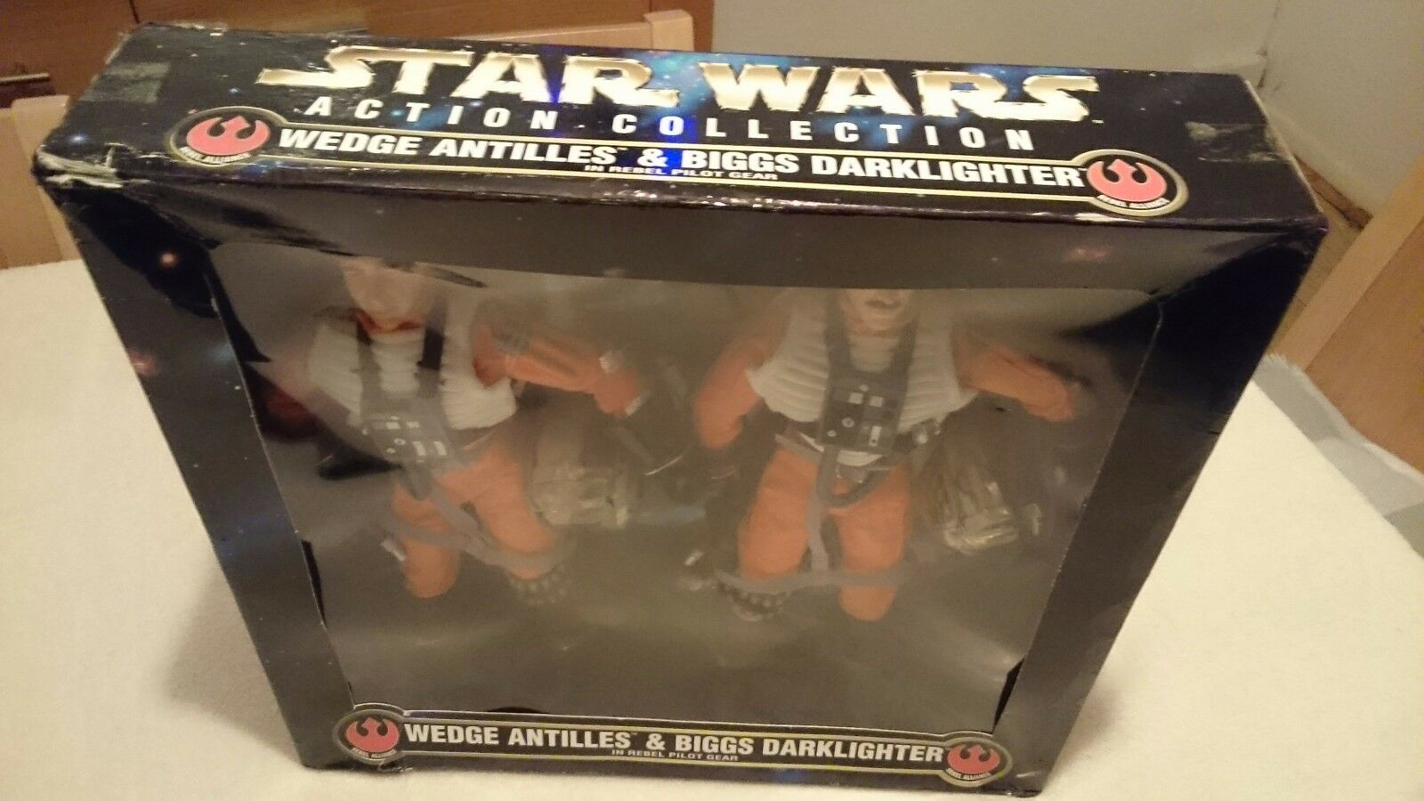 Star Wars Action collectionwedge ANTILLES &  BIGGS DARKlumièreER en Rebel Pilot Gear  shopping en ligne