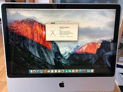 Das Beste Apple Imac 61cm (24 Zoll) Desktop 2,4ghz Core 2 Duo 320gb Hdd 4gb Ram Top!!! Perfekte Verarbeitung