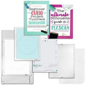 Silhouette-Large-Base-Set-with-Large-Curio-Pixscan-Mat-and-Starter-Guides