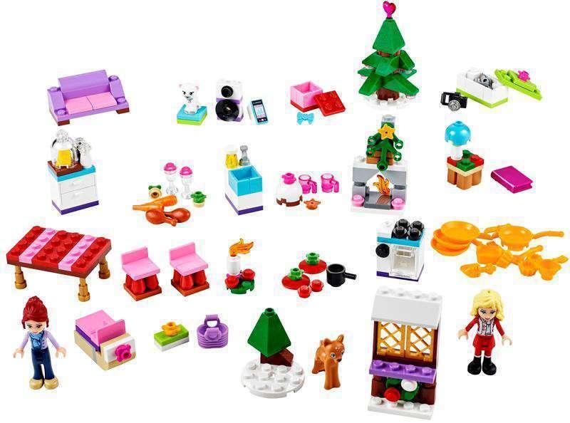 Lego Lego Lego Friends 41040 2014 Advent Calendar Minifigure Girls Xmas Gift Present 6c3589