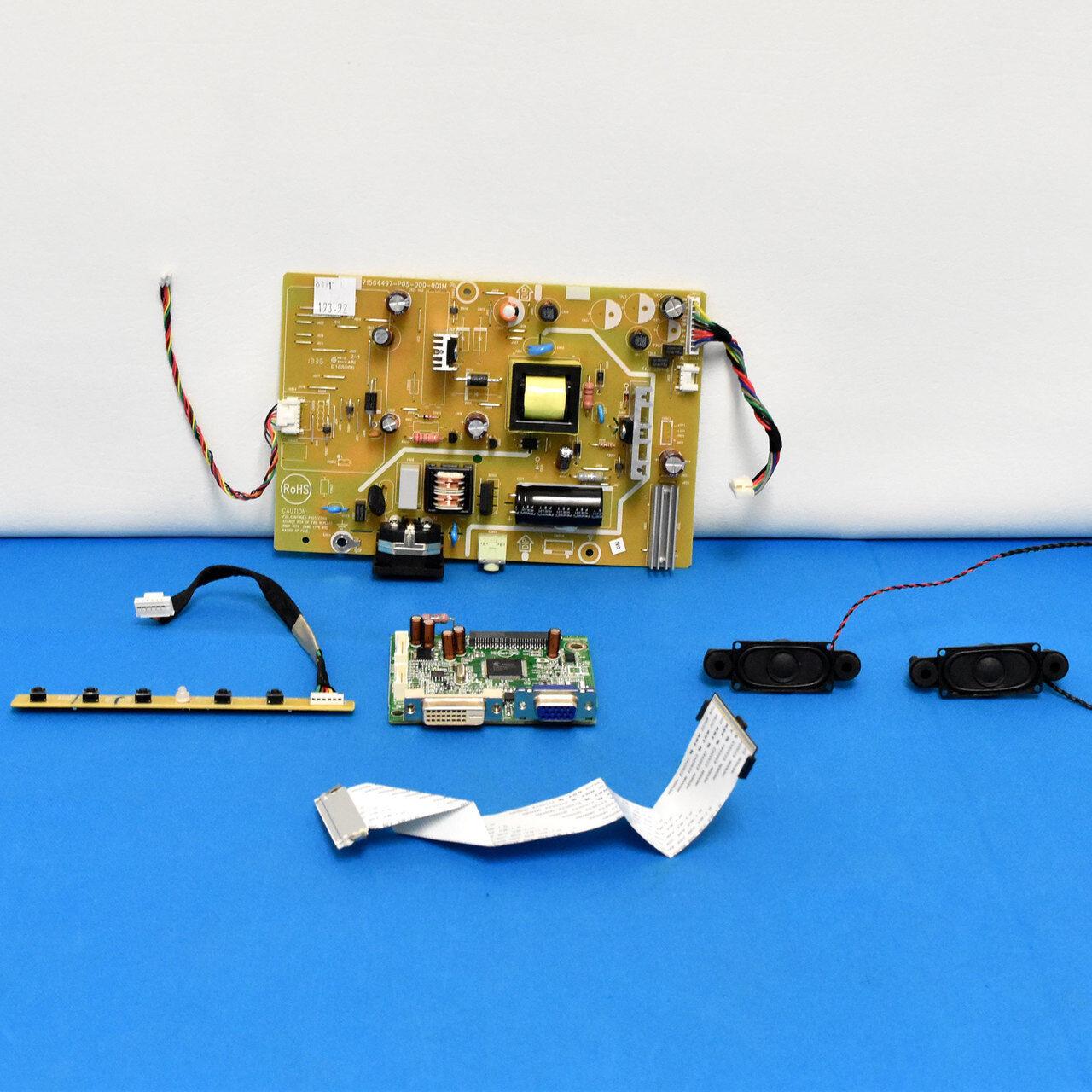 Asus Monitor VS239H-P Power Supply Board 715G6994-P01-000-001M P//N: GD561GYA0