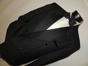 Bert-Pulitzer-men-039-s-Double-Breasted-formal-tuxedo-jacket-coat-42-R