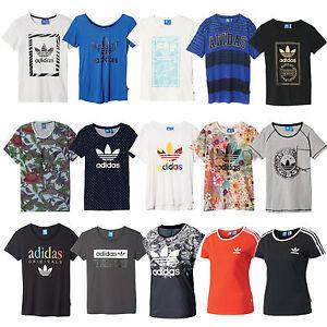 adidas originals trefoil logo tee damen t shirt sportshirt. Black Bedroom Furniture Sets. Home Design Ideas