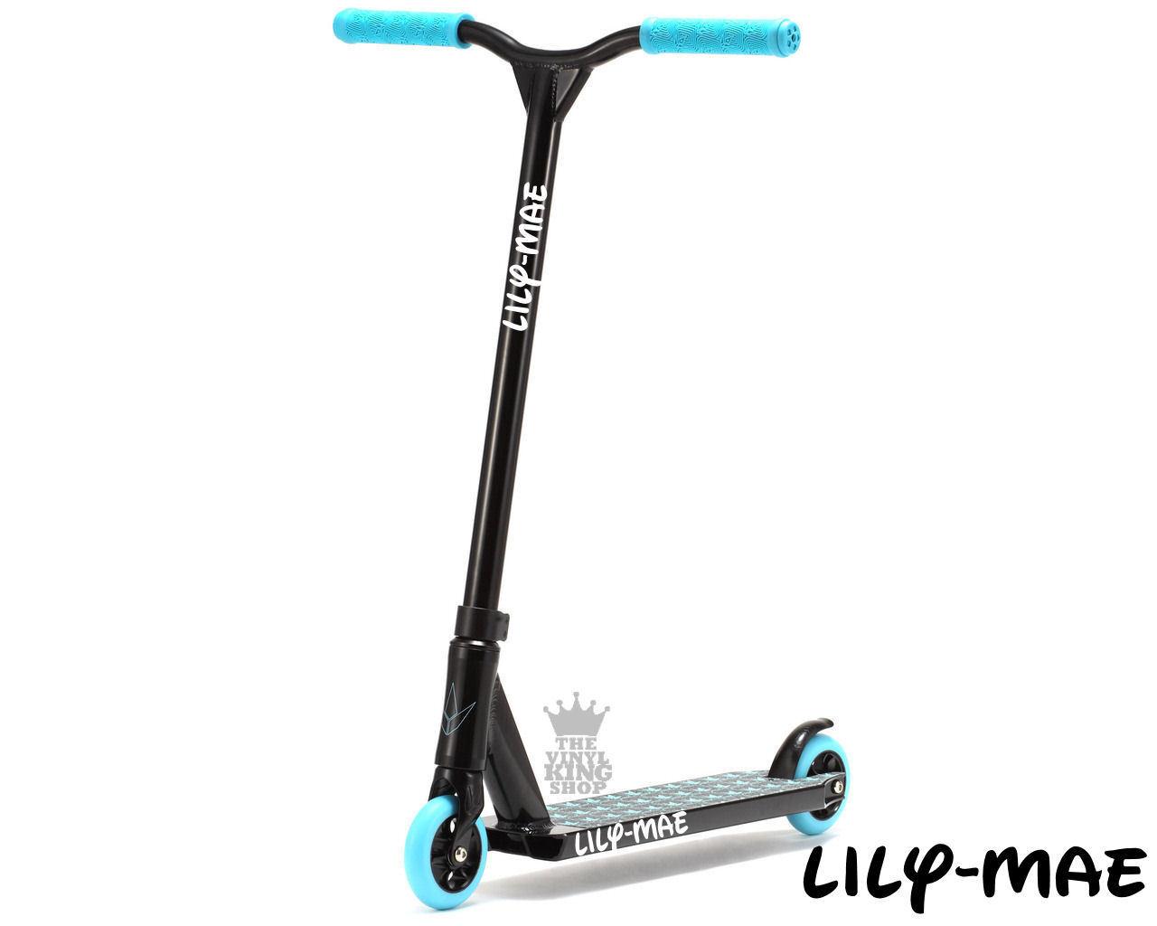 2 x personnalisé nom autocollants walt pour scooters curly walt autocollants 2 autocollant vinyle enfants personnalisé c8d9b3