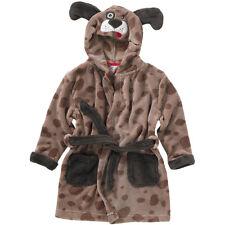 Animal Crazy Childs Boys Girls Puppy Dog Bath Robe Dressing Gown Soft Fleece c002e53a0