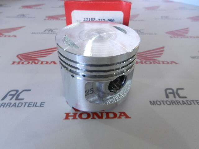 Honda Sl 125 K1 K2 a Piston 1. Oversize +0,25 Genuine New