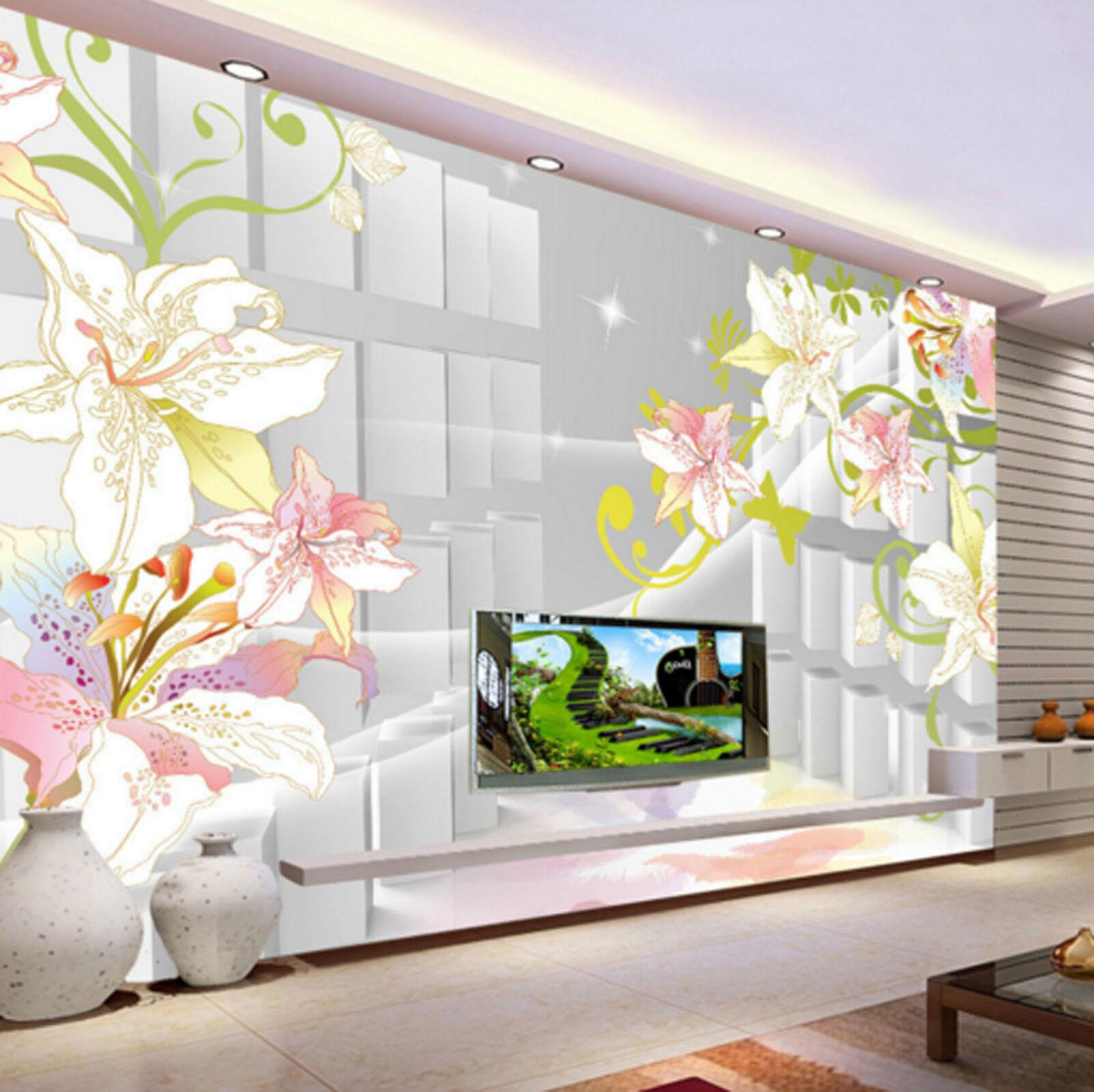3D Twinkle Flower Plants 2727 Wall Paper Wall Print Decal Wall AJ WALLPAPER CA