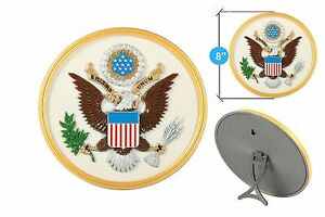 The Great Seal of the United States of America & Handmade (White) Original Seal