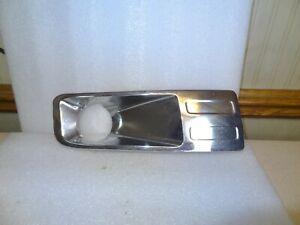 Plastic For Fusion 06-09 Driver Side Fog Light Trim Chrome