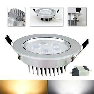 5w led leuchte deckenlampe einbau strahler 2835smd warmwei wei beleuchtung neu ebay. Black Bedroom Furniture Sets. Home Design Ideas
