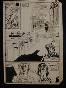 BATMAN AND THE OUTSIDERS ANNUAL #2 Page 41 Original Art Dave Ross Dan Adkins