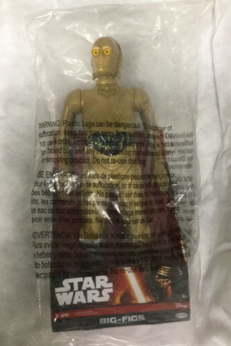 Jakks Big Fig Star Wars Classic 19/' C 3PO Argent Jambe