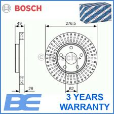 92257703 Genuine OE Textar Coated Front Vented Brake Discs Pair Set