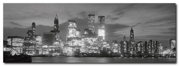 Quadro Manhattan Skyline from Brooklyn' Stampa su Tela Tela Tela Canvas 6c9d97
