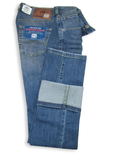 JOKER Jeans FREDDY mediumblue wrinkle used COMFORT DENIM