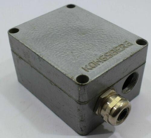 Kongsberg GA-100//A Thermocouple Amplifier Connection Box