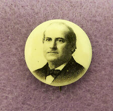 William Jennings Bryan 1900 Presidential Campaign Pin
