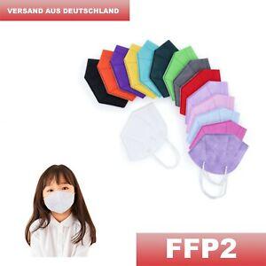 FFP2 Maske für Kinder, Jugendliche, Frauen mit schmalem Gesicht, mit CE