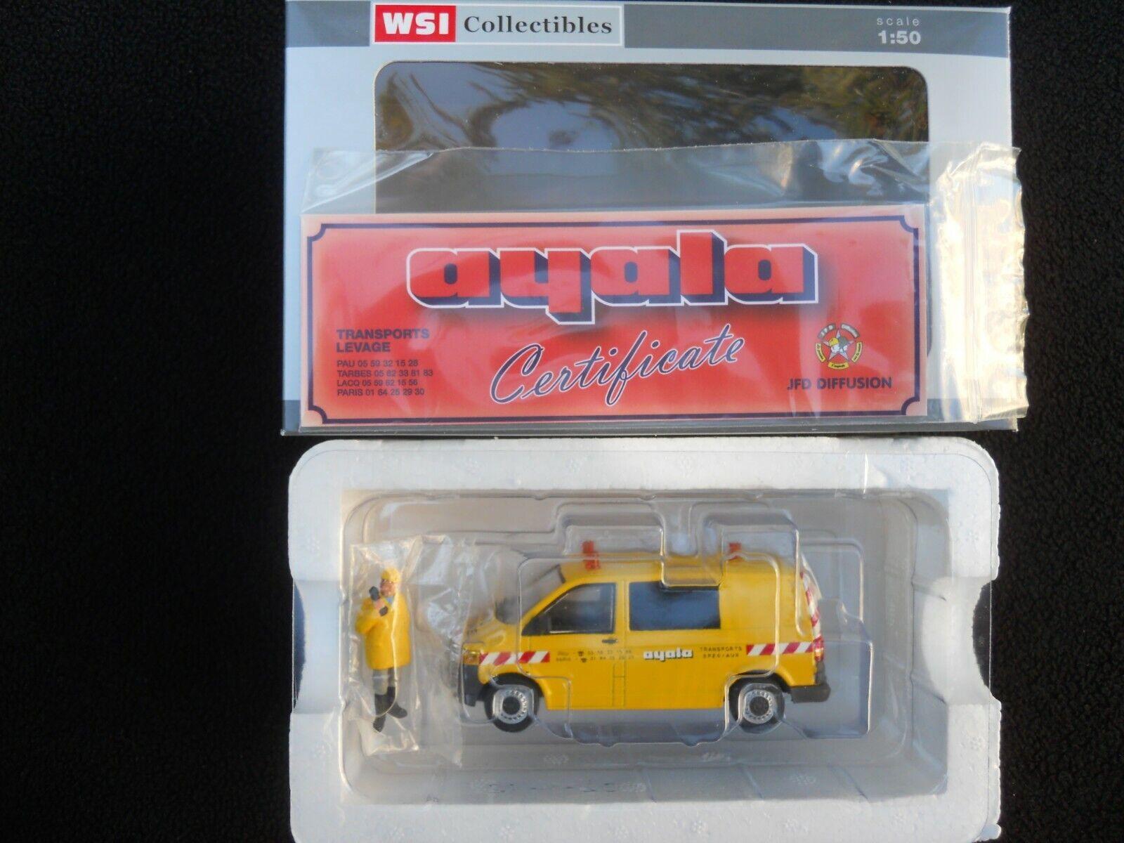 WSI MODELS 02-1532 VW CAR D'ACCOMPANIMENT CONVOY AYALA + FIGURINE MINT BOX