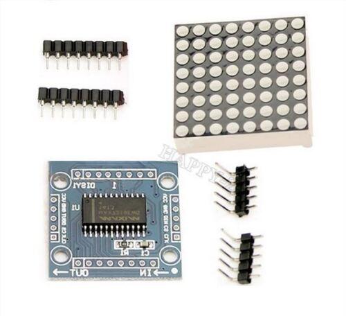 2Pcs Arduino Microcontrôleur MAX7219 Kit D/'affichage De Contrôle De Module De os