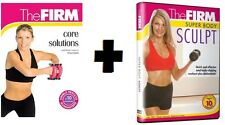 The FIRM CORE SOLUTIONS + SUPER BODY SCULPT DVDs+ FREE Health & Fitness Bonuses!