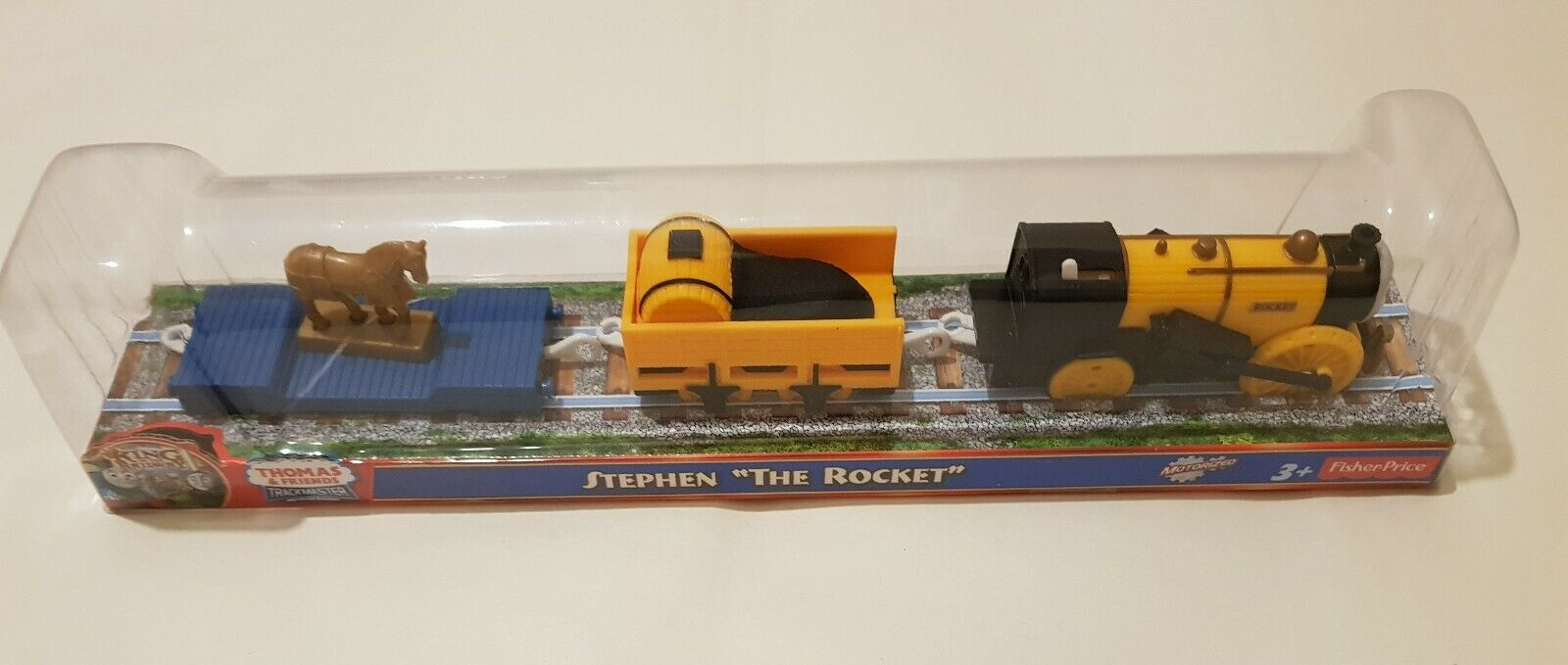 Thomas The Tank Engine & Friends STEPHEN THE ROCKET Trackmaster MOTORISED NEW