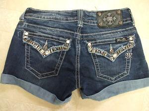 27 Mint Shorts Waistline Fibbia Donna Euc Brand Me Jeans Denim Miss vwZa70qRq