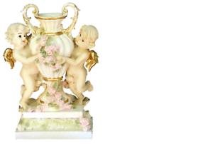 XXL mesa jarrón decoración decorativas jarrones estilo antiguo personaje escultura cáliz ángel nuevo