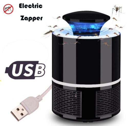 Electric Zapper Mosquito Killer Lamp 5V USB Fly Bug Pest Trap Killer LED Lamp
