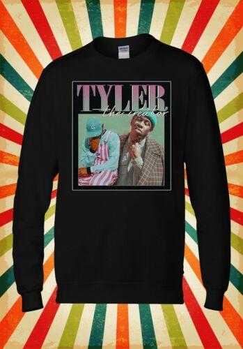Tyler The Creator Rap Singer Funny Men Women Unisex Top Hoodie Sweatshirt 2414