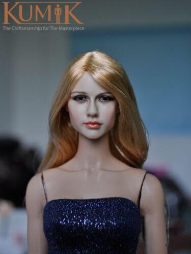 KUMIK 1//6 Head Sculpt No.13-25 @ Hot Dollsfigure Toys Playtoy Custom female girl