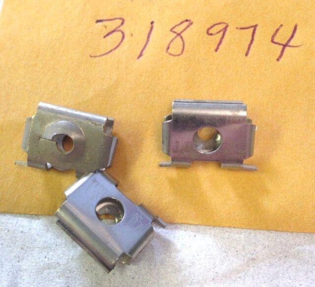 Genuine OMC Johnson Evinrude Fasteners #318974 New Pkg of 2 #0318974