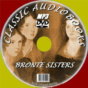 70-BRONTE-SISTERS-ENGLISH-NOVELS-amp-POEMS-MP3-AUDIOBOOKS-PCDVD-NEW-JANE-EYRE-Etc