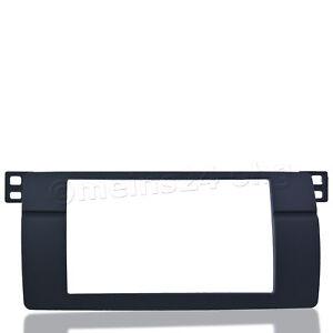 2 DIN Radioblende f/ür BMW E46 2DIN Blende Rahmen doppel