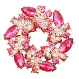 BROCHE Doré pierres rose fushia - Accessoires vêtement/robe de mariée - France - État : Neuf sans emballage : Objet neuf, jamais porté, vendu sans l'emballage d'origine ou dont une partie du matériel d'emballage d'origine est manquante (comme la bote ou la pochette d'origine). Les étiquettes d'origine peuvent ne pas tre a - France