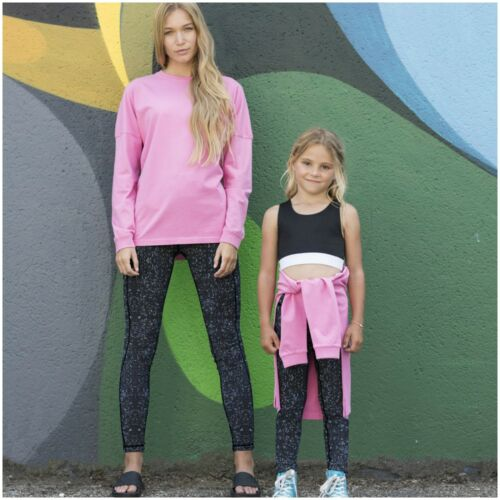 Girls Crop Top Dance Vest Fitness Training Gym Yoga Running Sports Bra Kid Child