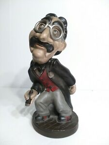 Vintage-Groucho-Marx-Tuscany-Studios-Chalkware-Plaster-Statue-Marx-Brothers