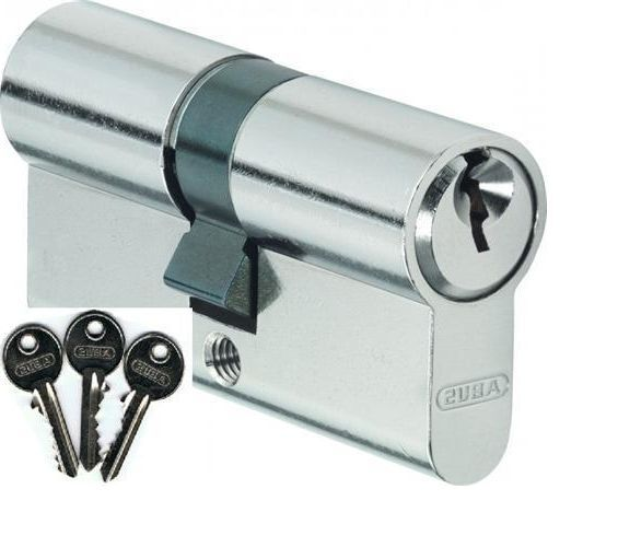 35/40 Abus E50 Profilzylinder Schließzylinder + Schlüssel 1986 1973 1967 1943