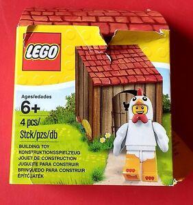 Sur Détails Suit Coop Le Lego Guy Afficher Chicken Pâques Jouet 2016 Promo 5004468 Titre D'origine Emballage Figurine iPukXZ