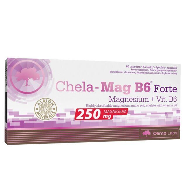 (16,92€/100gr) Olimp Chela-Mag B6 Forte (60 Kapseln)  - Mineralstoffe