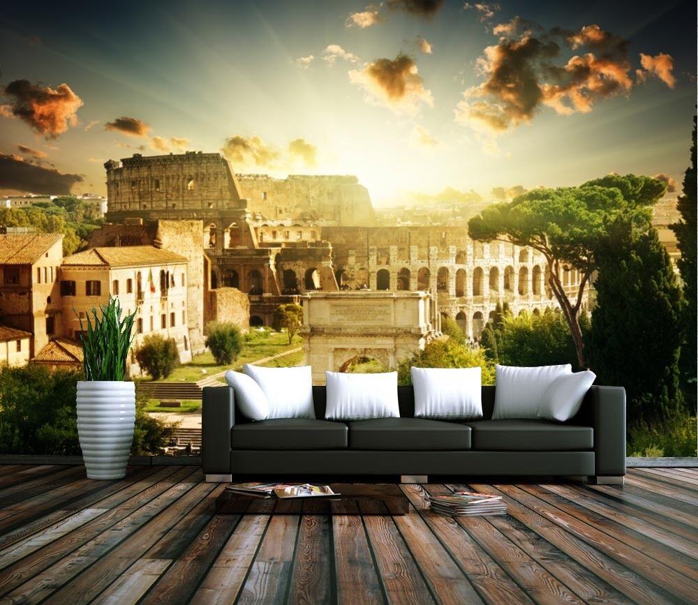 3D Kolosseum Antikes Rom  74 Tapete Wandgemälde Tapete Tapeten Bild Familie DE   Schön    Nutzen Sie Materialien voll aus    Exquisite (mittlere) Verarbeitung