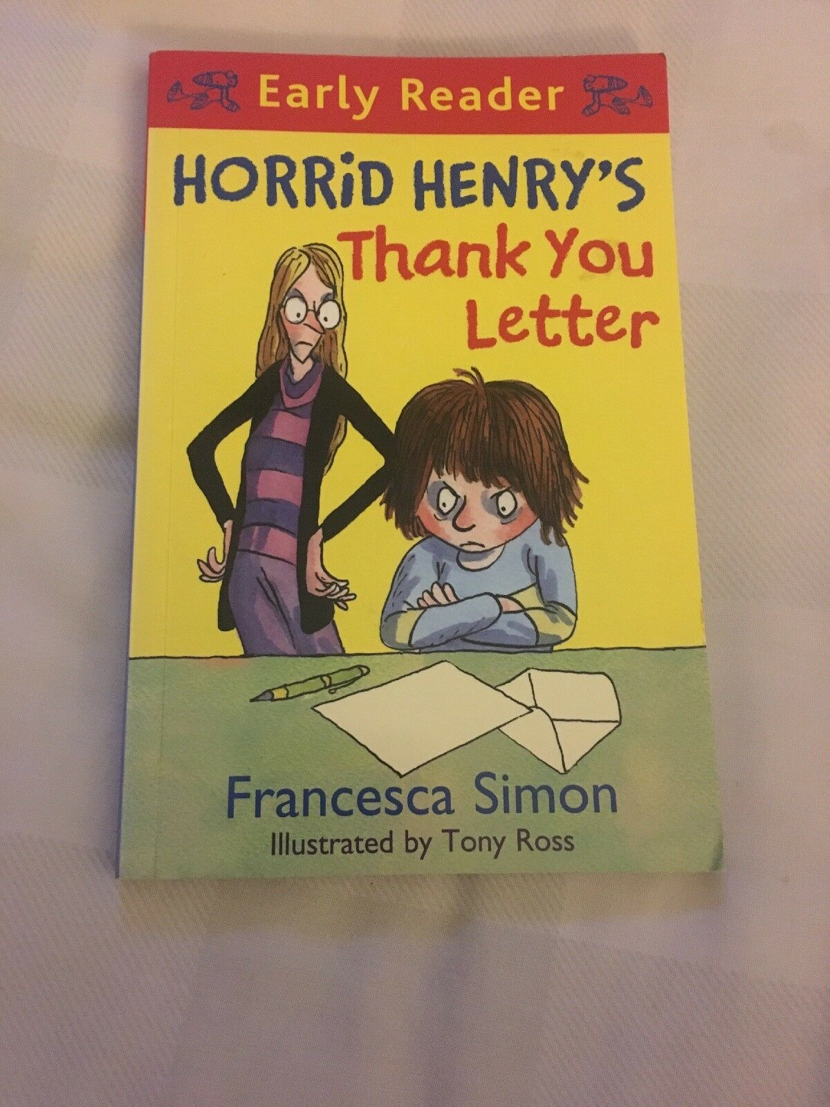 Horrid henrys thank you letter book 9 by francesca simon horrid henrys thank you letter book 9 by francesca simon paperback 2011 ebay expocarfo