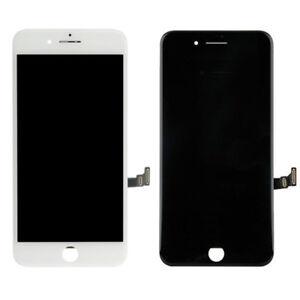 SCHERMO-LCD-IPHONE-8-PLUS-5-5-034-RETINA-SU-CORNICE-VETRO-TATTILE-NERO-BIANCO