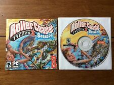 RollerCoaster Tycoon 3 Soaked PC Perfect With Booklet